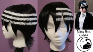 Death The Kid Wig Styling by SmilingMoonCreations