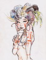 Asian with African Values by Chrissy-Christine