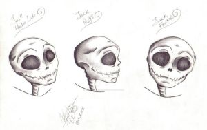 Jack facial study by Violette-Aner