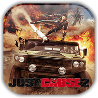 Just Cause 2 Game Icon by Wolfangraul