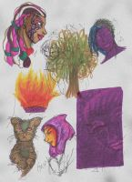 Marker Sketches 2 by SamusFairchild