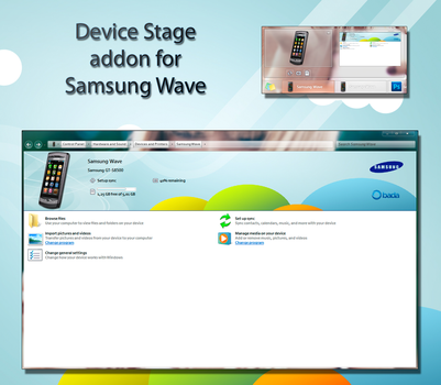 Samsung Wave Device Stage Mod by jake-ru