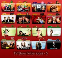 TV Folder Icons ColorFlow . Set 5 by ashtray4241
