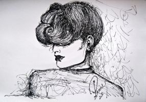 Fashion Illustration-Sketch II by Renny222