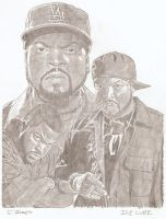 Ice Cube 3 by eazy101