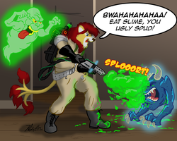 Ghostbusters: Slime Time! by the-gneech