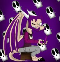 Gaz Goes Draconic by dragonfire1000