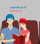 Mordicai+Margret by RegularShowIsCooler