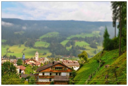 View over San Candido by Nameda