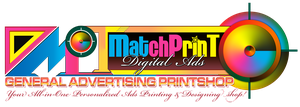 MatchPrinT Digital Ads Logo by michaeltuan97