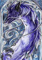 ACEO - Stargate by ShadeofShinon