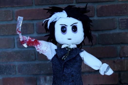 Sweeney Todd is a Puppet by MichellePrebich