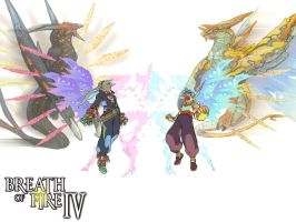 Breath of Fire 4 wallpaper by Scary-Dave
