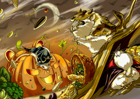 Happy Halloween 2014 by aconite-pawlove