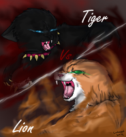 Scourge vs Firestar by cutecat54546
