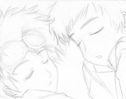 Tamers Naptime - Takato+Henry by jacmac