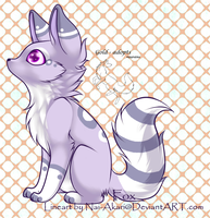 Purple Fox adopt closed by gold-adopts