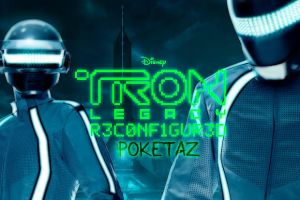 Daft Punk Tron Legacy by POKETAZ
