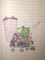 Almighty Tallest Purples' Addiction. by TheGreenlink