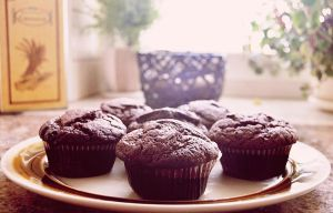chocolate muffin by cassie93