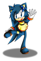 .:AT: Melody The Hedgehog:. by XxRubytheRabbitxX