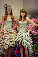Recycled Dresses by sinistertale