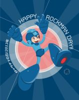 HAPPY ROCKMAN DAY 2013! by daNieLsZx