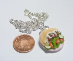 pitta kebab necklace from NeatEats by rhonda4066