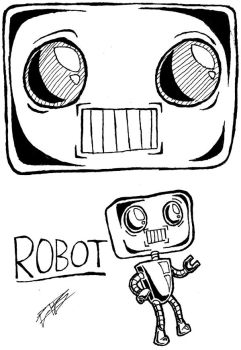 Robot by postbagboy