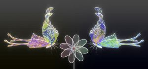 Chromatic butterflies by k3-studio