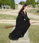 Gothic Witch 10 by HiddenYume-stock
