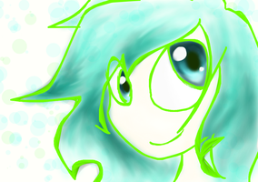 Blue and Green by VocaloidxNikoorux20