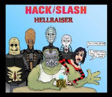 HackSlash: Hellraiser by Lordwormm