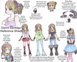 My Reference Sheet by G2cutie
