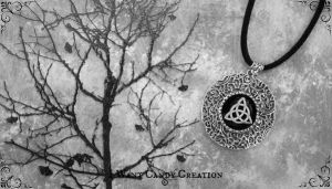 HANDMADE - Wicca Pendent Triquetra by IWantCandyCreation