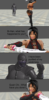 Mortal Kombat X: Noob Saibot vs Sareena by xXTrettaXx