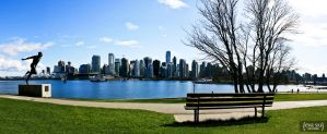 The View from Stanley Park by evapsiu