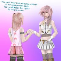 Lightning's new outfit Another Reason Against Snow by Lady-Lottie