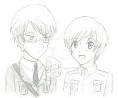 APH:Sweden and Finland sketch by alakala12