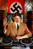 now hitler is a dj by parasitegod64