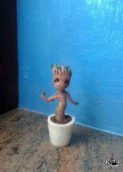 Baby Groot by r0ra