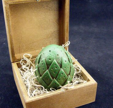 Small Green Dragon Egg by Dynamicalley