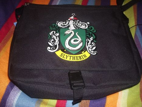 Slytherin Bag by ApatheticMuse