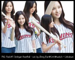 PNG Pack #5 : Seohyun BaseBall - cut by Zinny by zinnyg2k