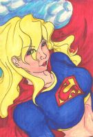 Supergirl by Rin-Amami