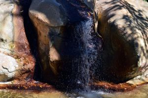 Upclose Waterfall by Vesperity-Stock
