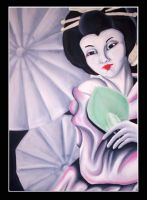 Geisha by Tariray