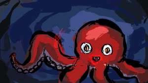 Octopus! by randomsketchman