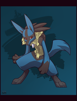 Lucario by Re-RD-Re