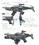 AR-41 Assault Rifle Revisited by seandunkley